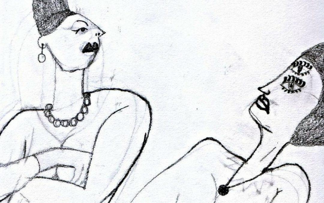 Nog meer je vrije zelf worden in je dans (2) – karaktertypering bij de buikdanseres.