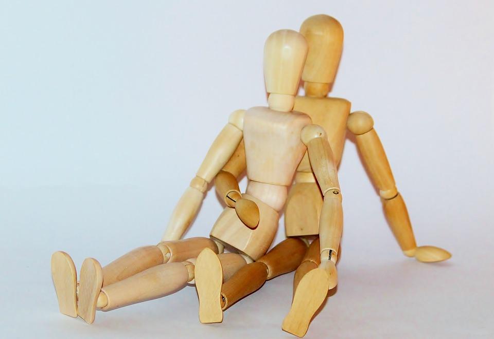 Psychologie van het lichaam: de zachte voorkant en de stevige achterkant.
